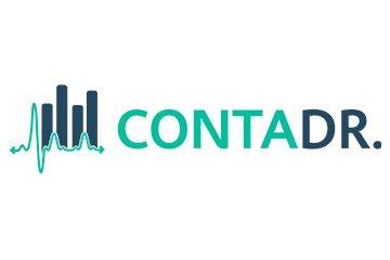 Logotipo de uma Contabilidade Especializada em Médicos